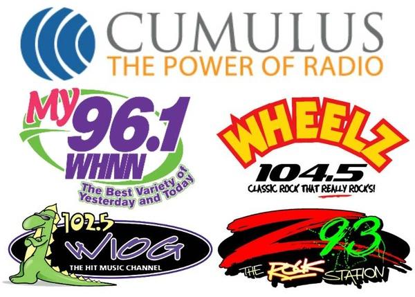 Cumulus Media -  WIOG/WKQZ/WILZ/WHNN