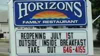 Blue Horizon Motel and Horizons Family Restaurant
