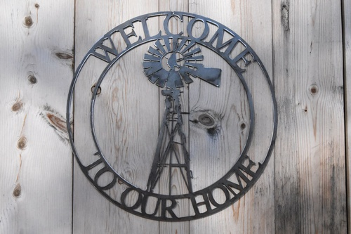 Gallery Image Fluters%20Creek%20Metal%20Sign-Welcome%20to%20Our%20Home.jpg