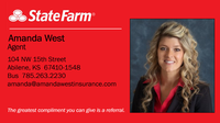 State Farm Insurance - Amanda West Insurance Agency