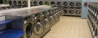 Lots of washers and dryers-never wait for a machine