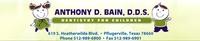 Anthony D. Bain - Dentistry for Children