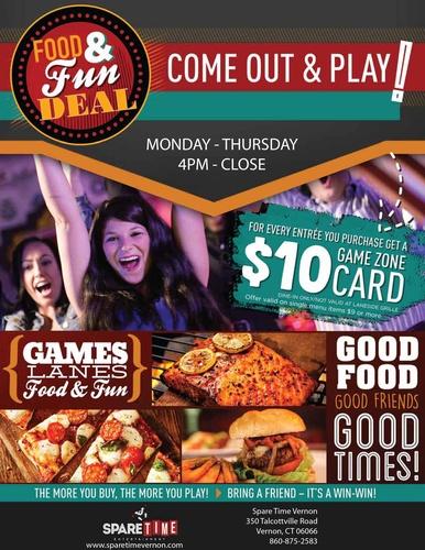 Food & Fun Deal