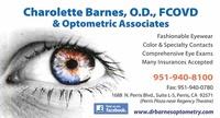 Dr. Charolette A. Barnes-LeBlanc, O.D., FCOVD