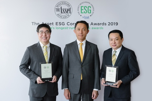 ''The Asset ESG Corporate Award - Gold 2019'' and ''Best Initiative in Diversity and Inclusion'' awards from The Asset