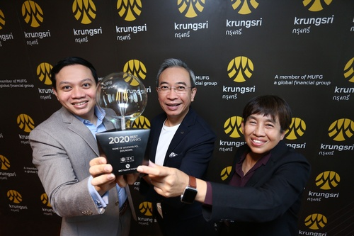 ''Best Bank 2020 in Asia/Pacific'' award from IDC Financial Insights