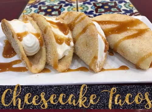Cheese Cake Tacos