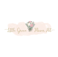 Little Green Flower Pot