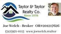 Joe Welch @ Taylor & Taylor Realty