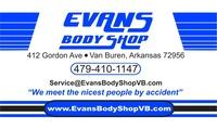Evans Body Shop Inc.