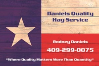 Daniels Quality Hay Service
