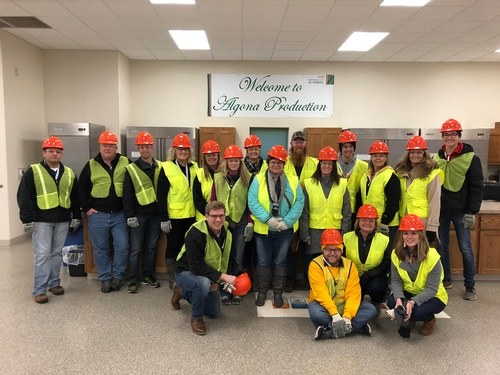 2019 Leaserhip Algona Class tours at Corteva