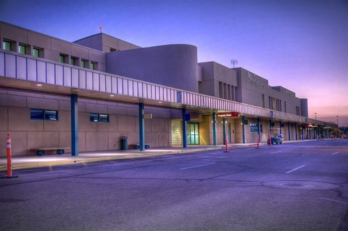 View of Yuma International Airport