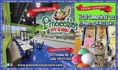 Pinocchio's Original Italian Ice Cream