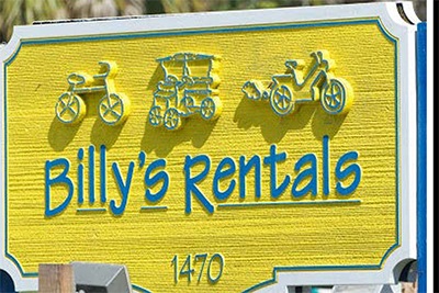 Billy's Bike Shop & Segway of Sanibel