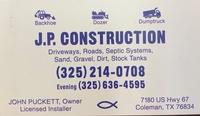 J. P. Construction