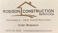 Robison Construction Services