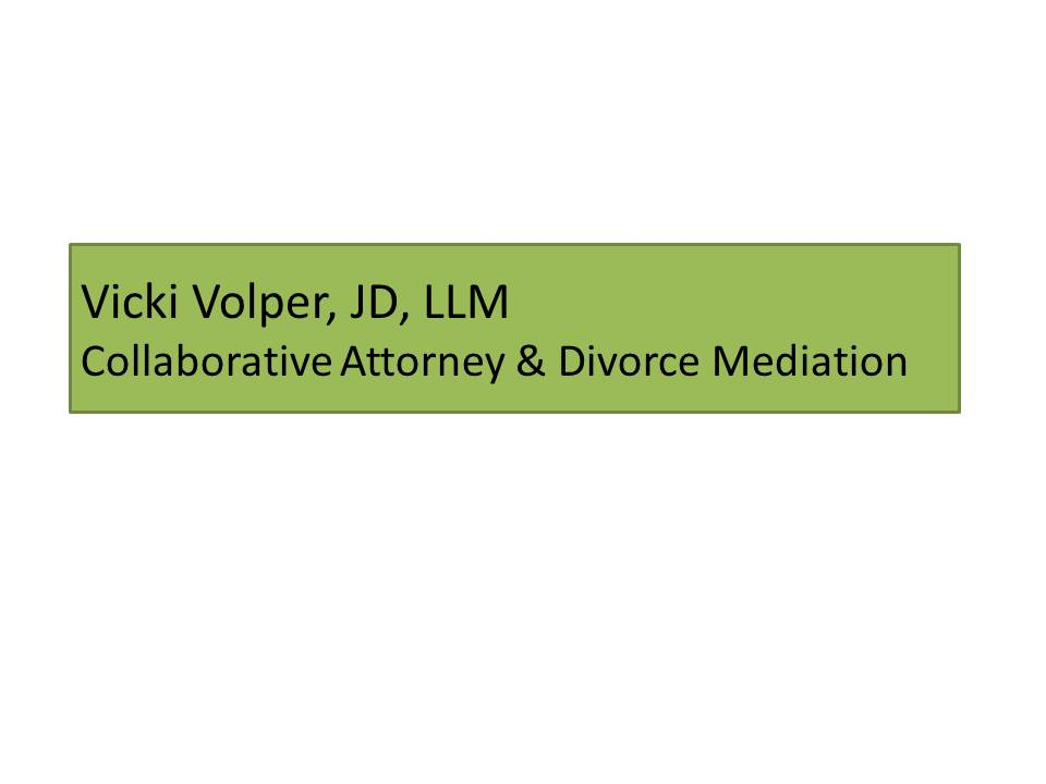 Vicki Volper, JD, LLM