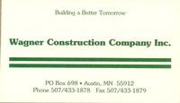 Wagner Construction Company, Inc.