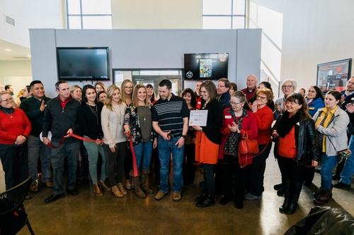 Cheyenne Chamber Ribbon Cutting - new location