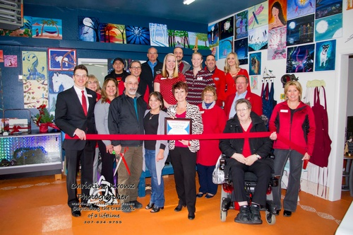 Red Carpet Opening Flydragon Design Art Studio, LLC