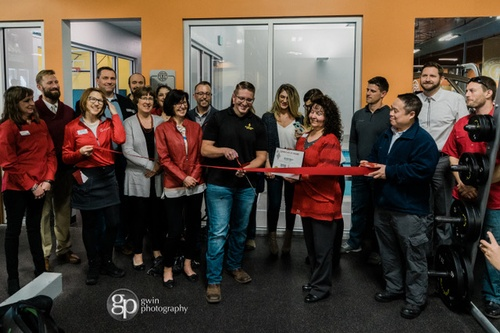 Red Carpet: Ribbon Cutting / Gym 10,000 sq ft expansion