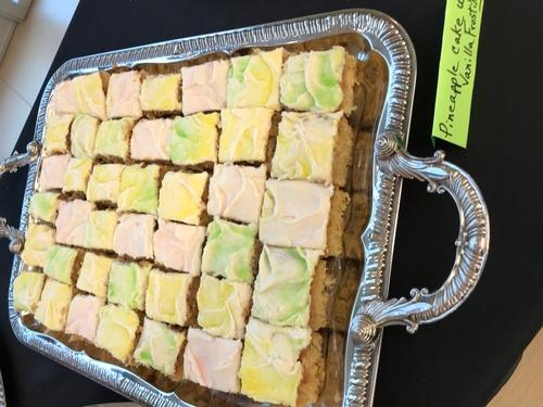 Pineapple Cake Squares