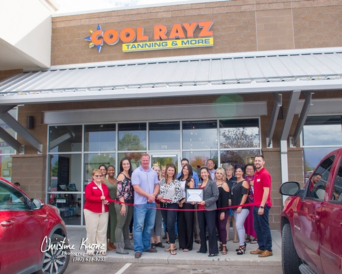 Red Carpet Opening: Cool Rayz Tanning & More
