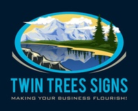 Twin Trees Signs