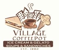 Village Coffee Pot
