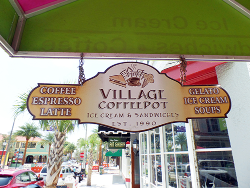 Join us at the ''friendliest coffee shop'' in downtown Mount Dora