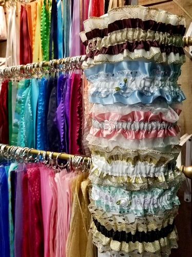 Prom Garters & Ribbons available at J&S Logos & Embroidery