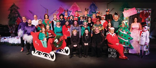 Al Opland Singers Christmas 2019 (photo by Mark Thode)