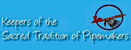 Keepers of the Sacred Tradition of Pipemakers Logo