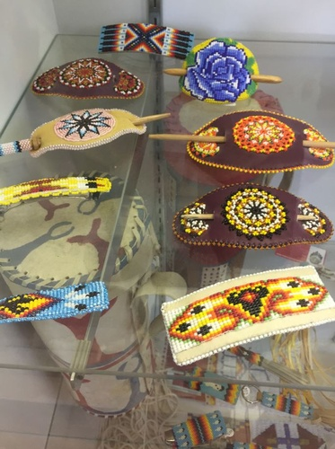 Beaded Barrettes and Items (photo by Erica Volkir)