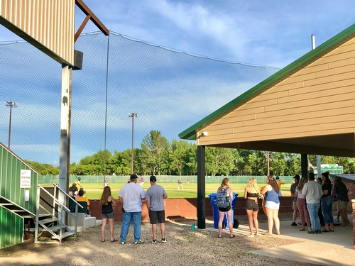 2020 PACF Concession Stand Project at Westview Park. Photo by Erica Volkir