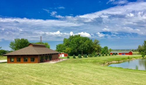 The beautiful Hiawatha Lodge - a project in which the Pipestone Area Community Foundation spearheaded the $415,000 fundraising effort - was dedicated in June 2016. Photo by Erica Volkir