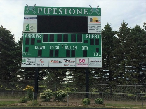 2013 PACF Scoreboard Project at Paulsen Field