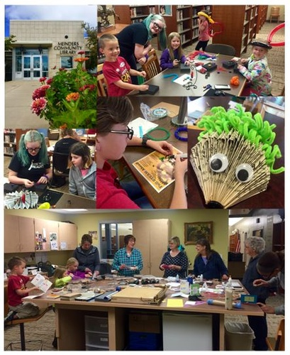 S.T.E.A.M. Room Activities at Meinders Community Library