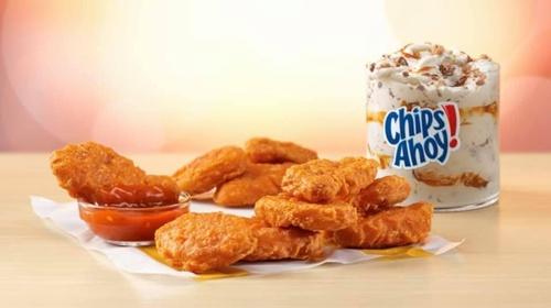 Chicken McNuggets & Ice Cream!