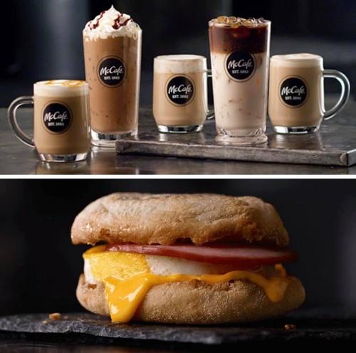 McCafe & Egg McMuffin!