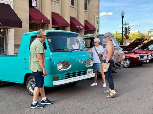 Chamber's Summer Car Cruise-In - 2021 - Photo by Erica Volkir