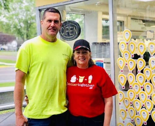 Corey and Julie Popma, Pipestone DQ Owners - Photo by Pipestone County Star
