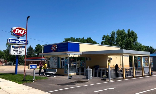 Pipestone Dairy Queen on Hwy 75 - Photo by Tom Steffes
