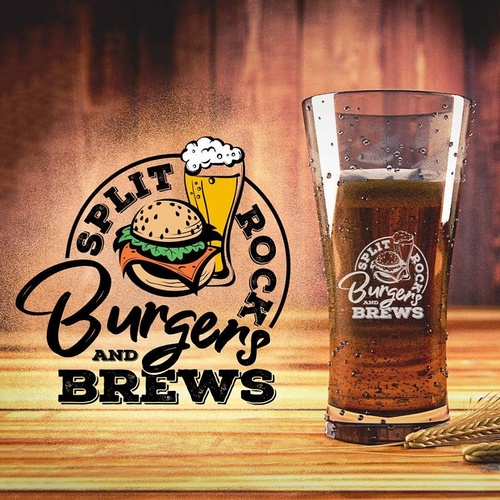 Split Rock Burgers & Brews Logo