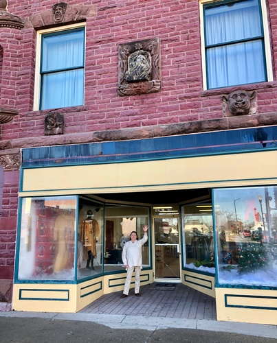 Pipestone Indian Shrine Association's second gift (Prairie Maiden Treasures) shop in Historic Downtown Pipestone