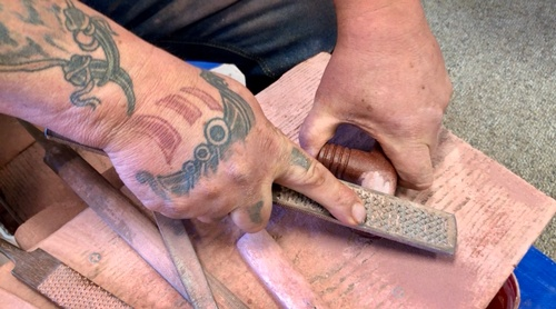 Pipe Carving Demonstration