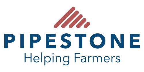 PIPESTONE - Helping Farmers logo