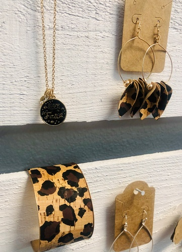 Animal Print Jewelry (photo by Erica Volkir)