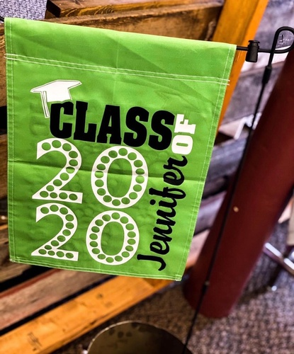 Class of 2020 Yard Flag at SoJo's Sportswear & Embroidery